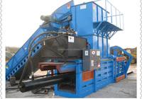 Horizontal compress baling machine for selling