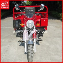 2015 Hot Sale New China KV 150ZH-B Red Three Wheel Tricycle/Motorcycle With Front Mask Electric Start Adult Tricycle