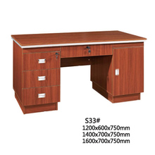 2015 NEW executive steel small office desk size with drawer lock