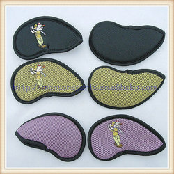 embroidery logo custom neoprene golf iron head cover