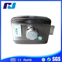 High quality stainless steel electric rim lock with remote control and keys