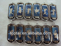 hot sell elegant Chinese Zodiac usb flash drive,metal usb pen drive
