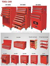 Venta caliente 196 unid gabinete del Kit de herramientas, rollcab, herramienta de mano con carro