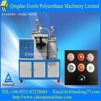 low voltage elastomer casting machine for producing wearproof product