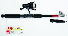 Spinning Pen Fishing Reels Combo /Gears With Light Champagne Color