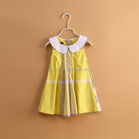 Cowboy baby dress children frocks of girls children cotton dresses patterned ready made kids dress