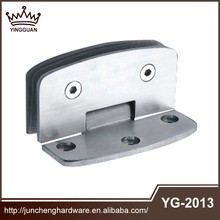 China Products Ss 201 304 Polished Glass Shower Hinge