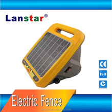 Solar powered controller, energizer livestock electric fence dog build-in controller solar fence