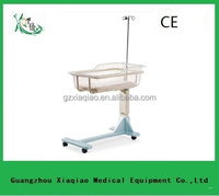 Hospital baby cot stainless steel infant bed bath