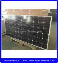 goods from china Mono 310w good quality sunpower solar panel