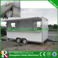 mini truck selling food/mobile food bus/bus food cart