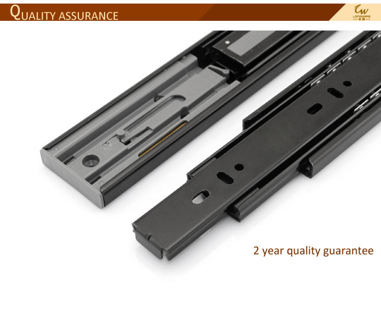 source full extension soft close telescopic channel drawer s