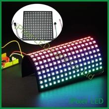 256pcs 5050rgb ws2812b flexible pixel led panel display