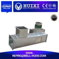 Rectangular heat resistant air exhaust duct