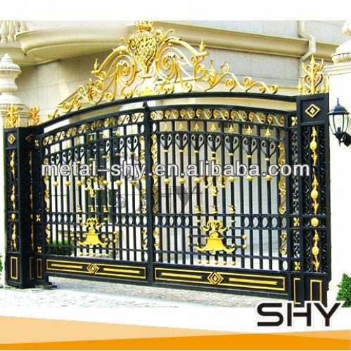 Modern steel gate designs for Modern gate designs wood and steel