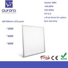 Shenzhen Yufai Aurora Ultra slim high lux 40W panel light fixtures surface mount lighting