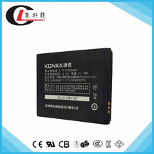 OEM service Mobile Phone Battery for Konka W950