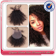 Wholesale free parting remy hair lace front closure with baby hair