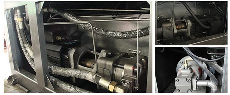 Venda quente Automática Cheia Ningbo Fuhong 450 T 450ton 4500kn Moldagem Por Injeção de Plástico Máquina de moldagem