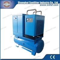 Adopting the advanced powder coating on surface industry reciprocating air compressor