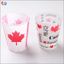 Custom Printing Shot Glass Drinking Glass For Promotion Gift Glassware