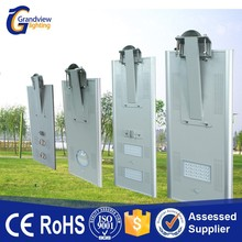China Factory All In One Solar LED Street Light with Pole Fixtures