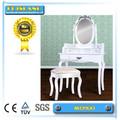 la venta de la parte superior de madera mdf mesa de tocador diseños para el dormitorio