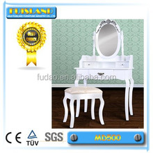 Top Selling white Wood Dressing Table Designs in bedroom furniture