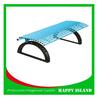 2015 popular park bench design Chinese manufacturer Galvanized Steel Bench