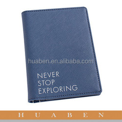 Huaben personalized hardcover leather book cover