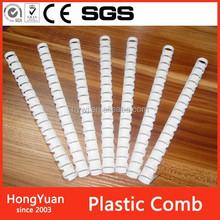 38 mm binding 255 sheets plastic binding plastic comb ring, plastic comb hair ring, plastic comb binding plastic ring binder