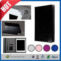 C&T Luxury vintage genuine real leather flip case wallet cover for ipad pro