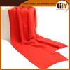 fashion acrylic knitted scarf S3404