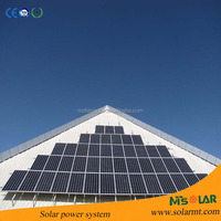 Yingli sun power panel poly crystalline solar panel