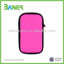 Waterproof promotional OEM logo printed neoprene case custom