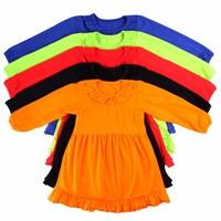 2015 new style long sleeve cute girls dress wholesale little girls winter formal dresses