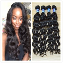 Real human hair for party best black women 100% raw brazilian human hair