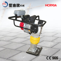 HCR90A heavy type vibrating rammer gasoline earth rammer walk behind vibrating tamping rammer