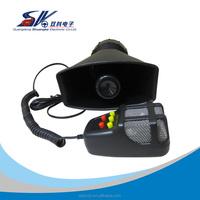 12V 60W police car horn speakers, siren horn speakers