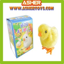 Factory price custom plastic mini chicken wind up toy