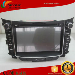 android car dvd radio for hyundai i30 2011 2012 2013 with 3g wifi TV Audio Video Player