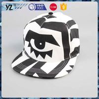 New arrival simple design children red snapback hat in many style custom and wholesales