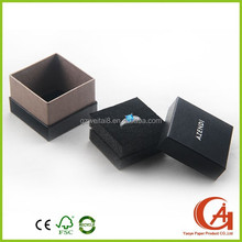custom paper set packaging luxury jewelry boxes silver stamp