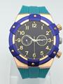 Reloj de hombre con reloj de gran tamaño