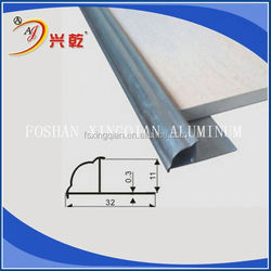 CONSTRUCTURE EASILY PVC STEEL TILE TRIM