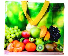 Fruit shopping PP woven bag/shopping bag tote bolsas