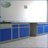 latest steel wood laboratory side table/side benches /lab furniture