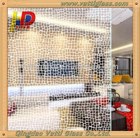 3-12mm fingerprint free Acid Etched Glass