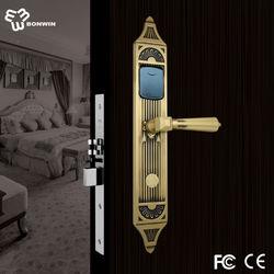 Bonwin european mode hotel key card door lock with software