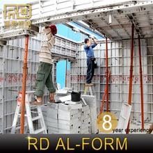 RD Alibaba Smooth surface Construction Building used concrete forms sale Producer sell to Dubai